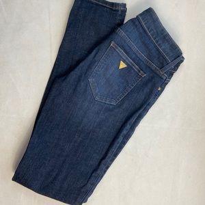 Guess Jeans stretch straight leg dark wash 27